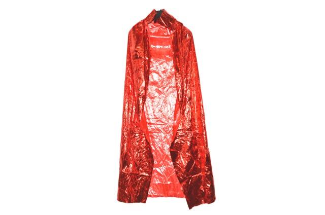 Plášť červený 120cm