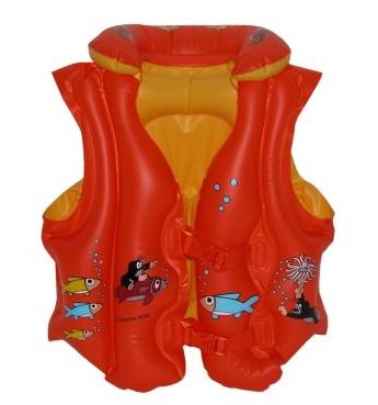 Plávacia vesta Krtko 45x50cm - oranžová