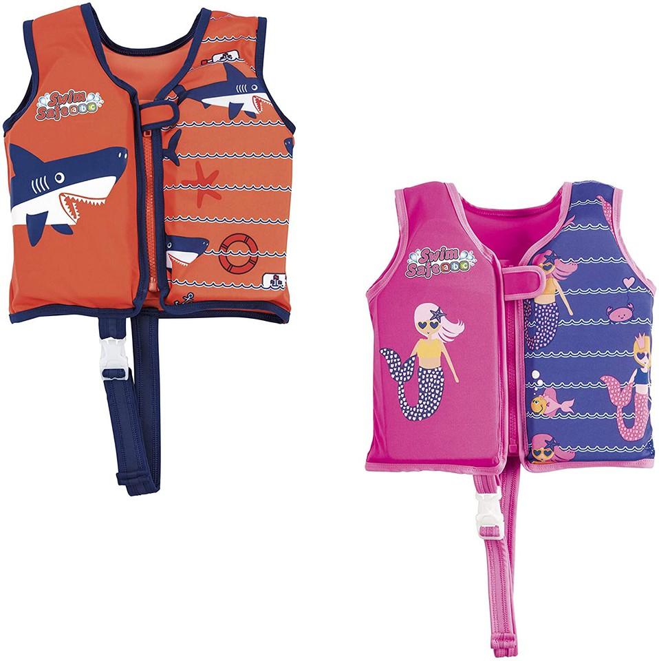 Bestway 32177 detská plávacia vesta M/L - ružová