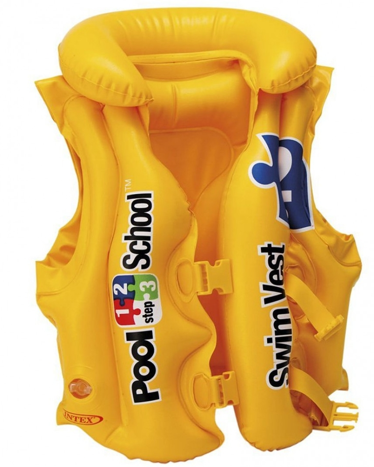 Intex 58660 Plávacia vesta Pool School 50x47cm