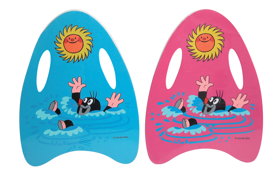 Plávacia doska Krtko 45cm - ružová