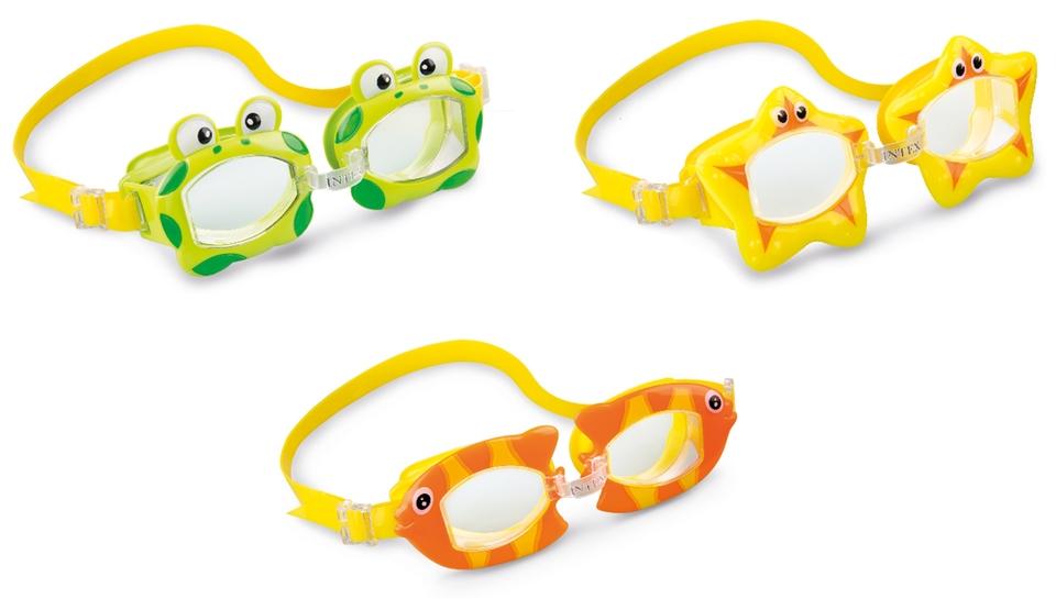 Intex 55603 Detské plavecké okuliare Fun - náhodné