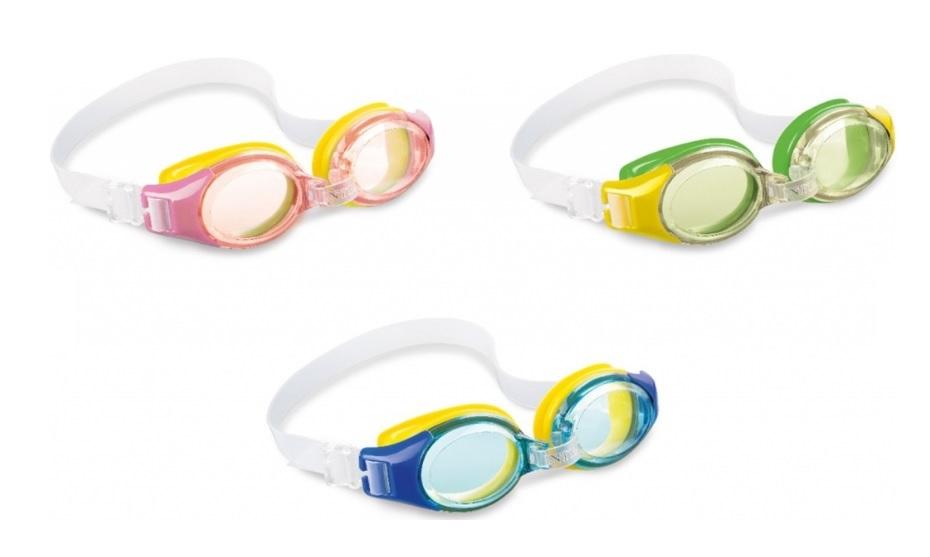 Intex 55601 Plavecké okuliare junior - zelená