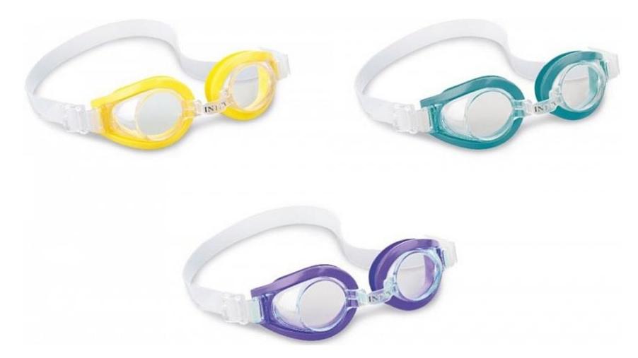 Intex 55602 Plavecké okuliare - žltá