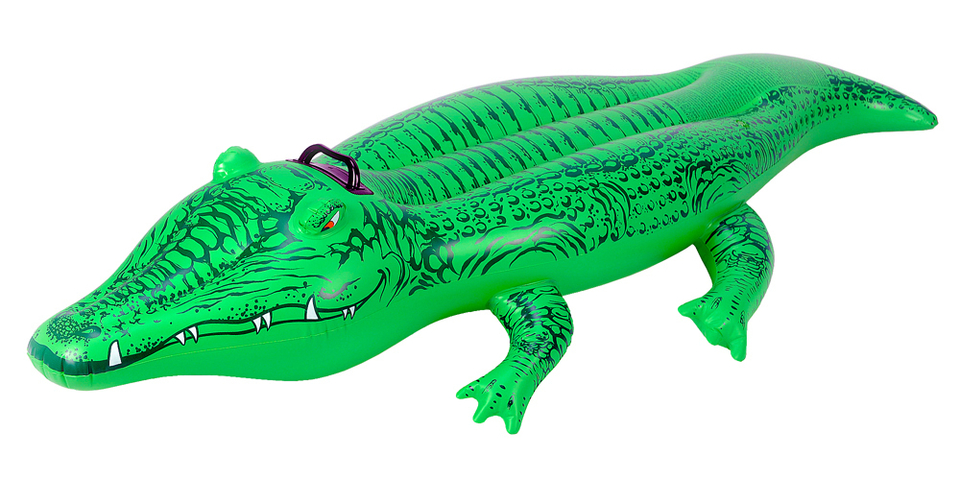 Intex Nafukovačka Krokodíl 168x68cm