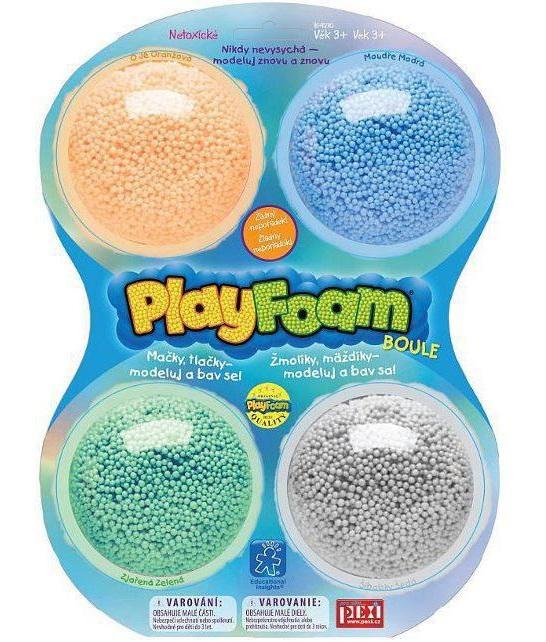 Modelína Playfoam 4farby