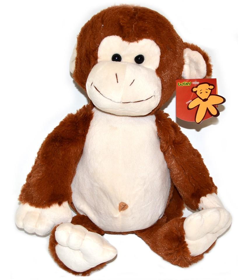 Opica plyšová 37cm