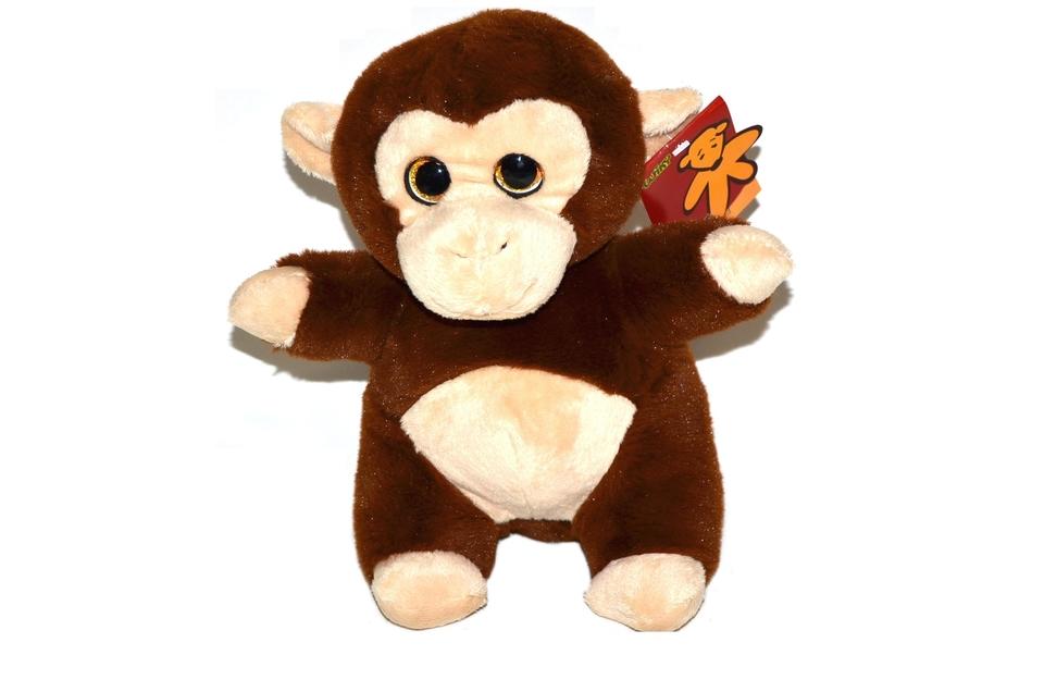 Opica plyšová 22cm