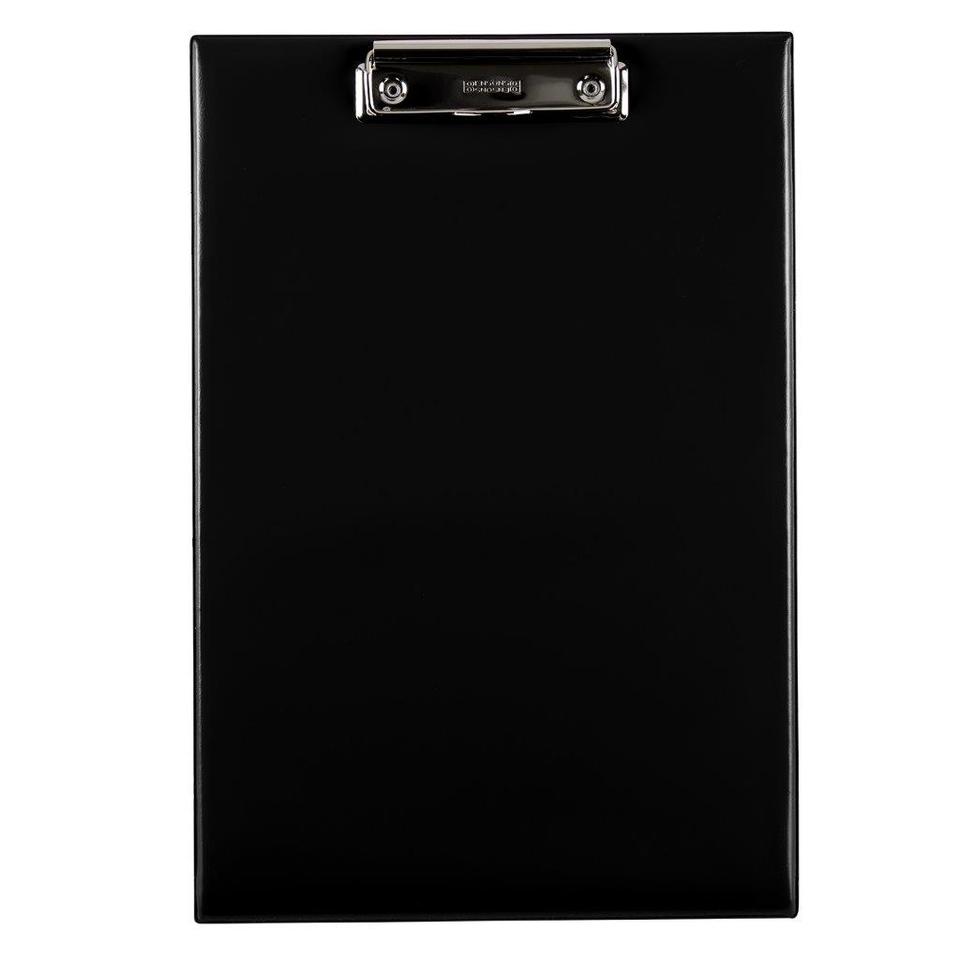Podložka s klipom A4 čierna