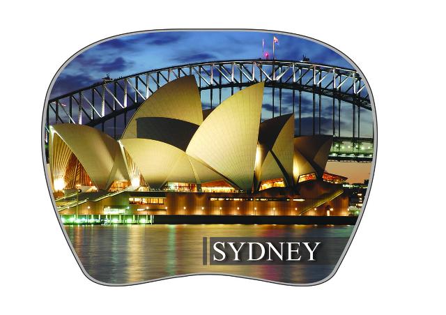 Podložka pod myš Sydney 19x13cm