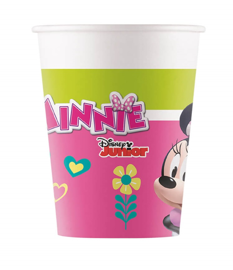 Poháre Minnie Happy Helper 200ml /8ks