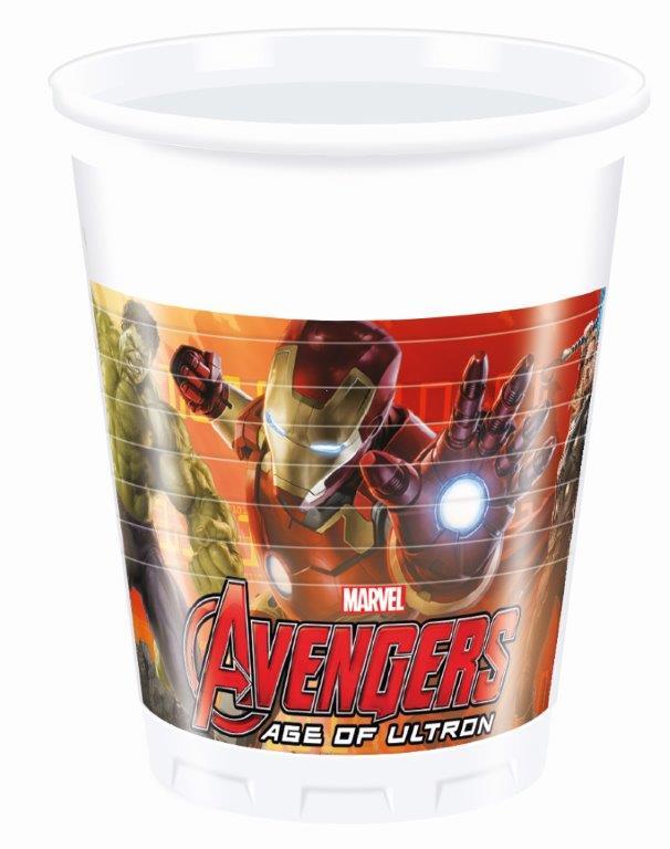 Pohár párty Avengers 200ml 8ks
