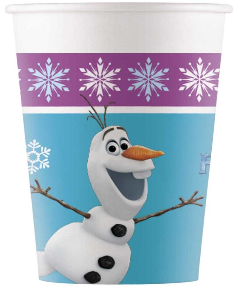 Poháre Frozen 200ml 8ks