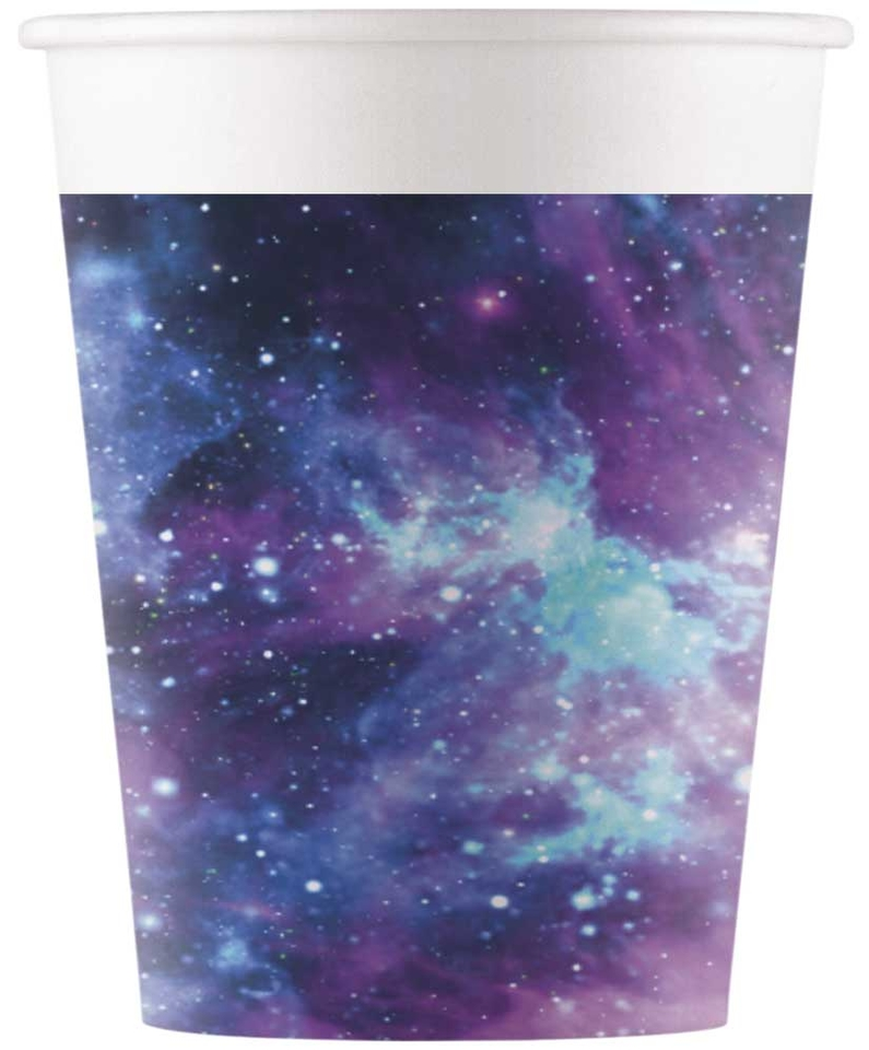 Poháre Galaxy 200ml 8ks