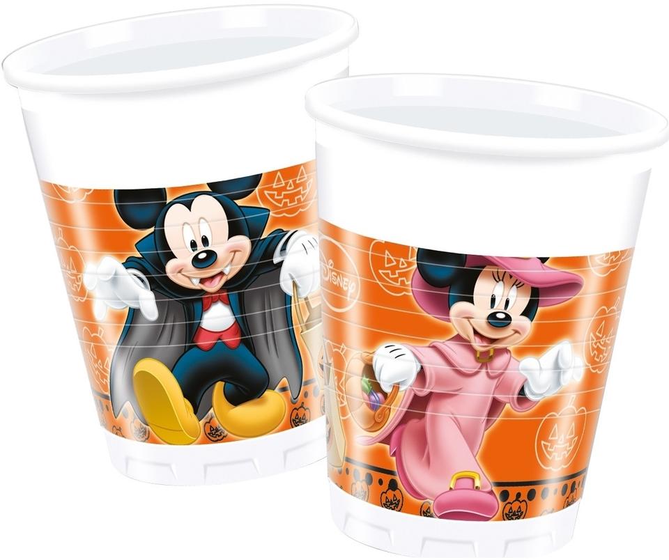 Poháre Mickey Halloween 200ml 8ks