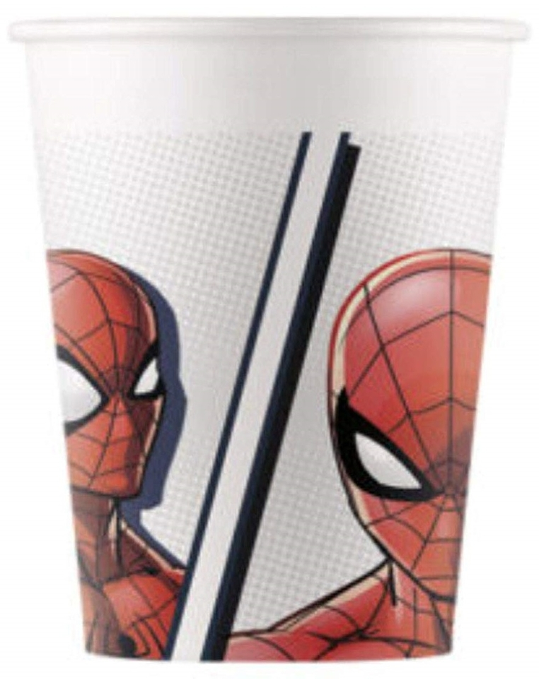 Poháre Spiderman 200ml 8ks
