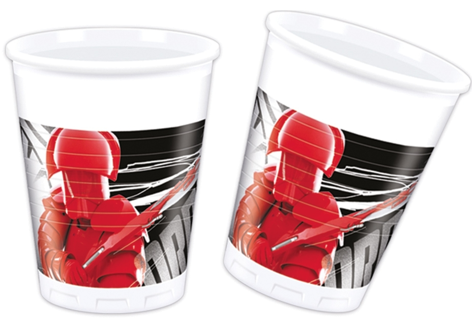 Poháre Star Wars 200ml 8ks