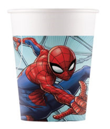 Poháre Spiderman 200ml/8ks