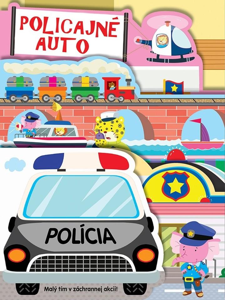 Policajné auto leporelo