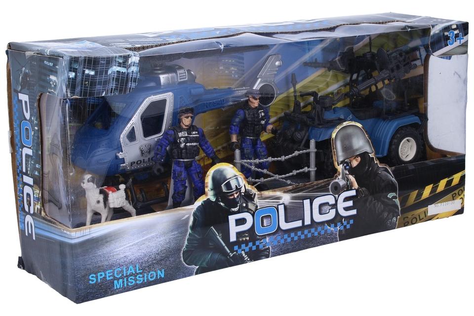 Policajná špeciálna misia 2druhy