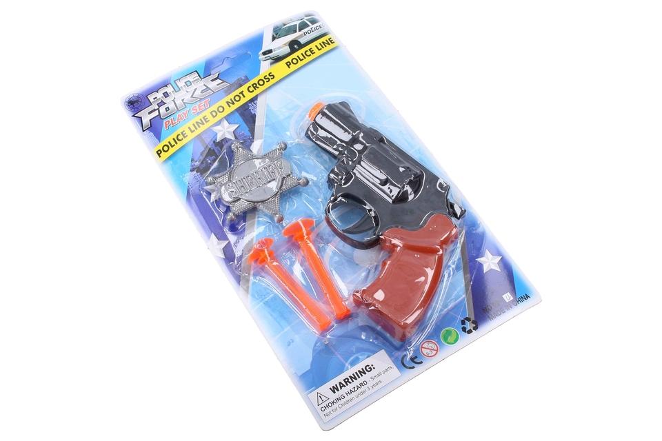 Policajná pištoľ set 13cm