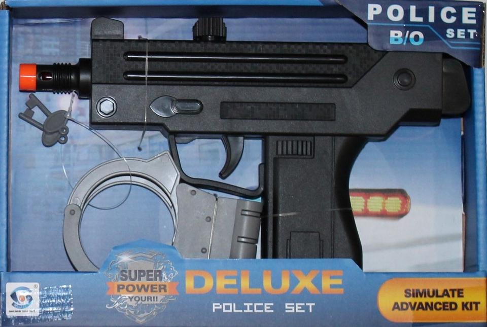 Policajný set na batérie 24cm