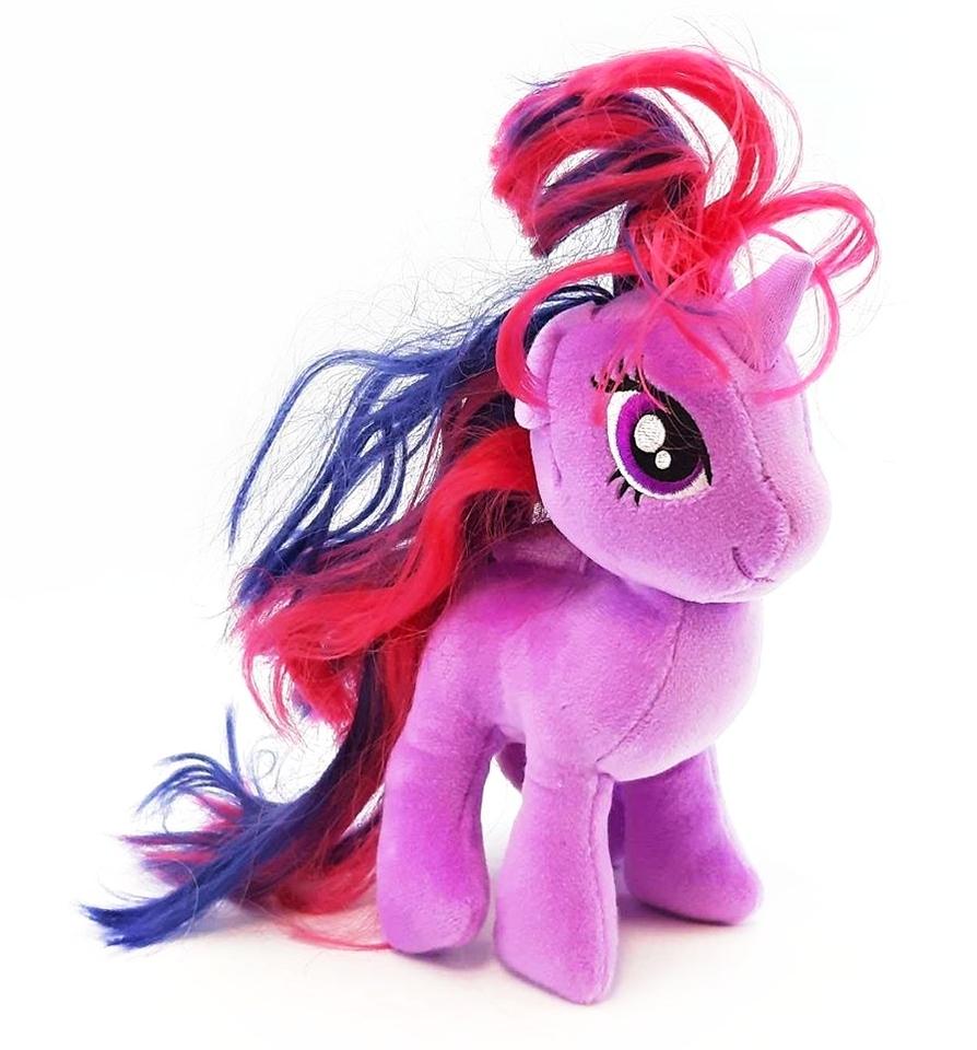 Poník My Little Pony plyšový 16cm fialový
