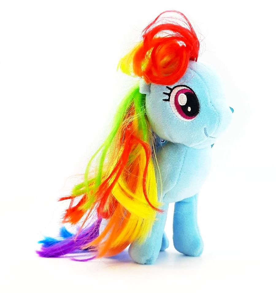 Poník My Little Pony plyšový modrý 16cm