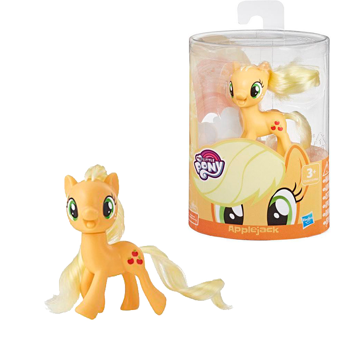 Poník My little Pony Applejack oranžový