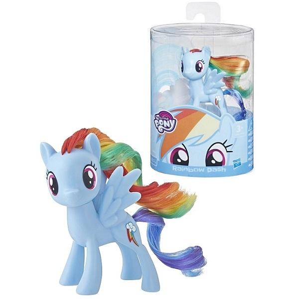 Poník My Little Pony Rainbow Dash modrý