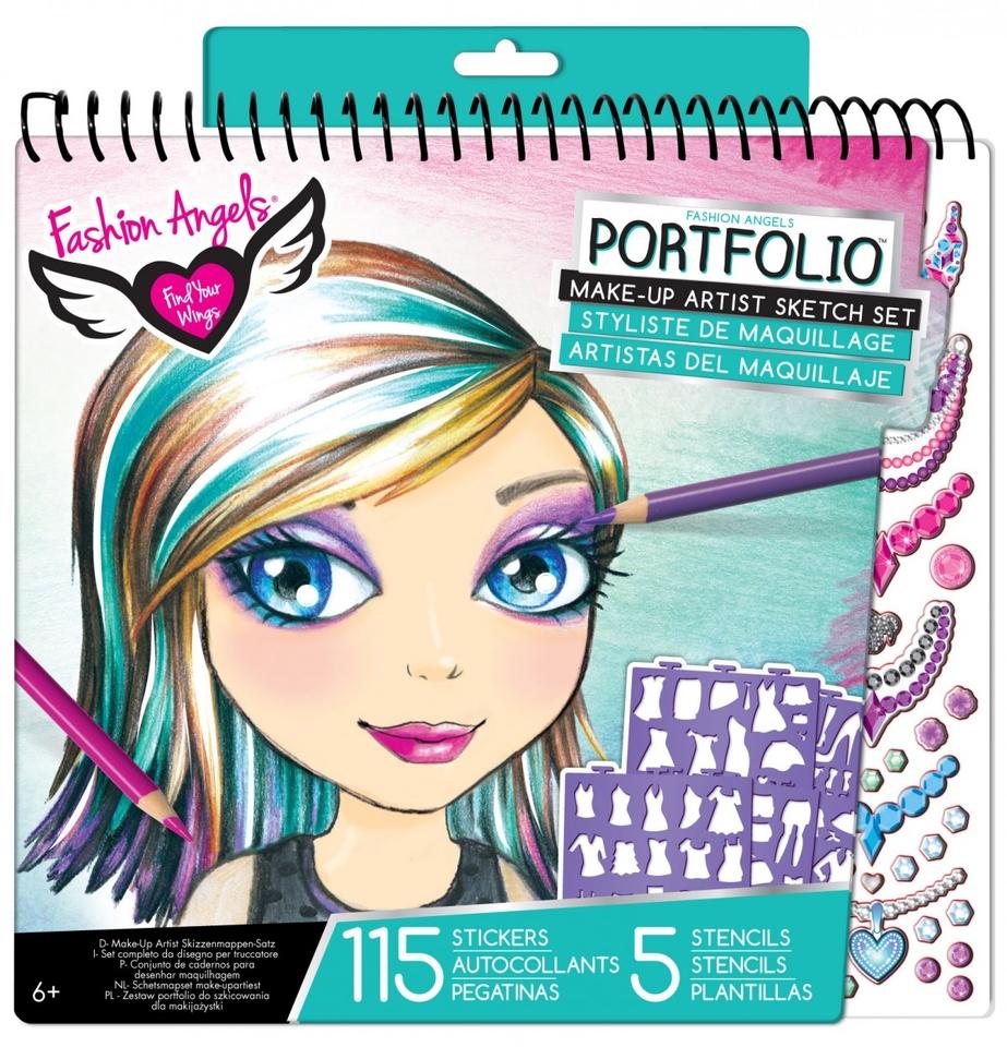 Portfólio Make-up set 115+5ks