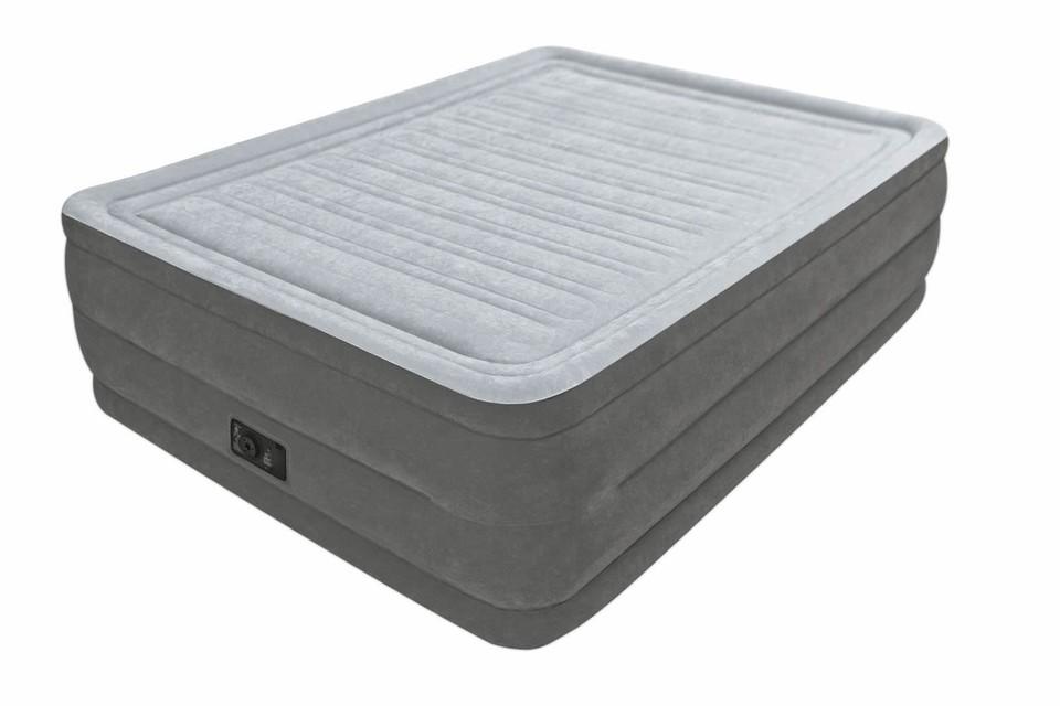 Intex 64418 Nafukovacia posteľ Comfort Queen s integrovanou elektrickou pumpou 203x152x56cm