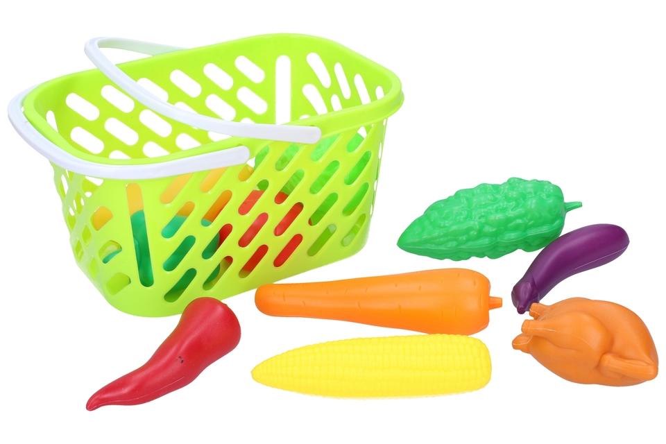 Ovocie a zelenina v košíku set