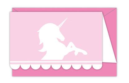 Pozvánka Unicorn 6ks