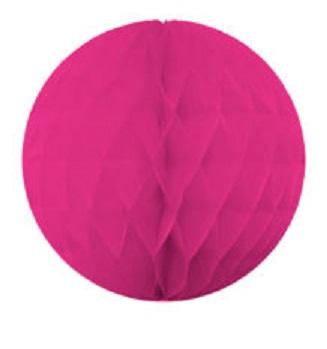 Ozdobná dekoračná guľa ružová 15cm