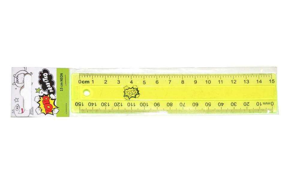 Pravítko Neón 15cm