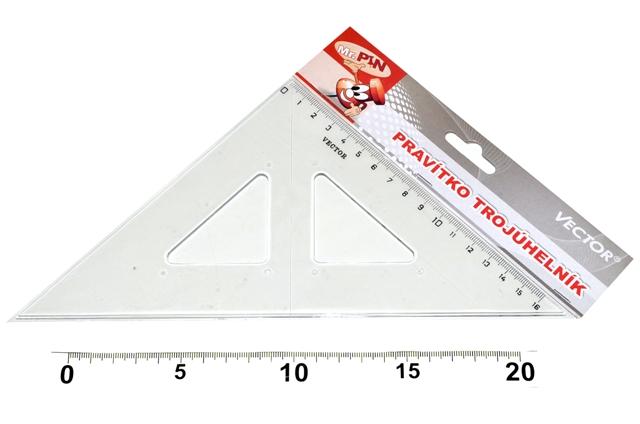 Pravítko Trojuholník