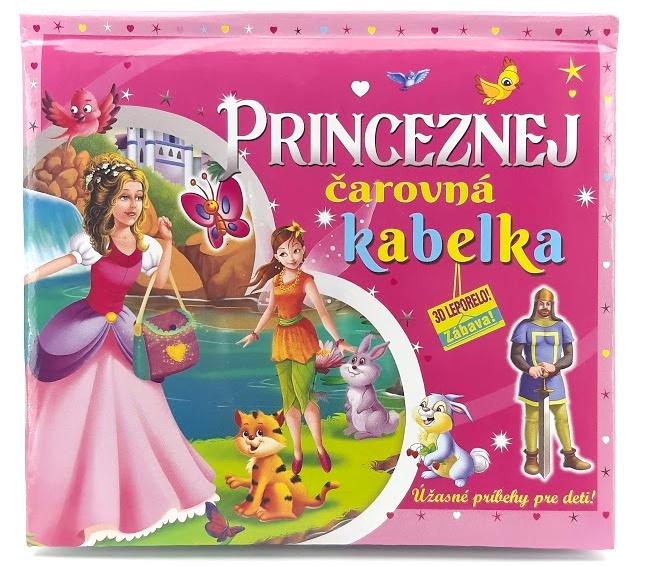 Princeznej čarovná kabelka 3D leporelo