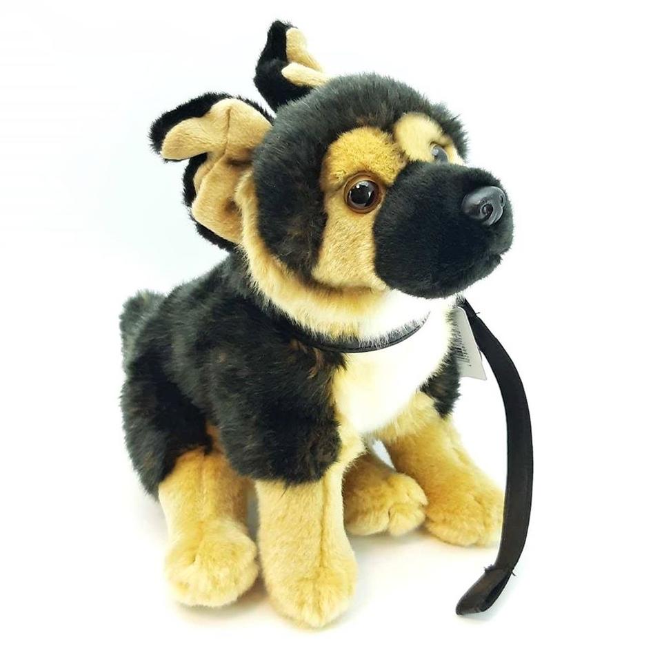 Plyšový pes nemecký ovčiak 25cm