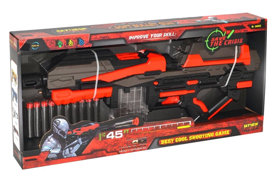 Puška 54cm a 10 penových nábojov