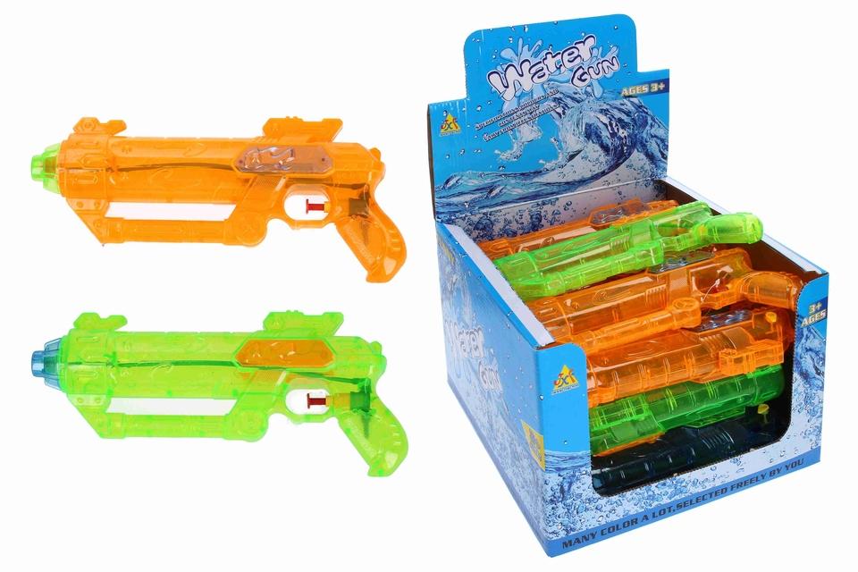 Vodná pištoľ 27cm - oranžová