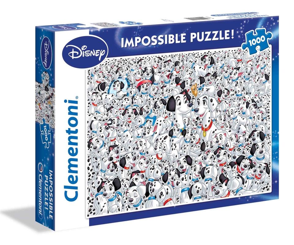 Clementoni Puzzle 1000 101 Dalmatincov