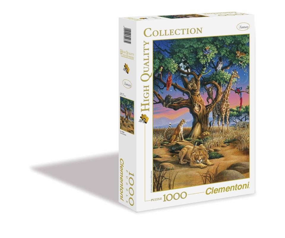 Clementoni Puzzle 1000 Africká divočina