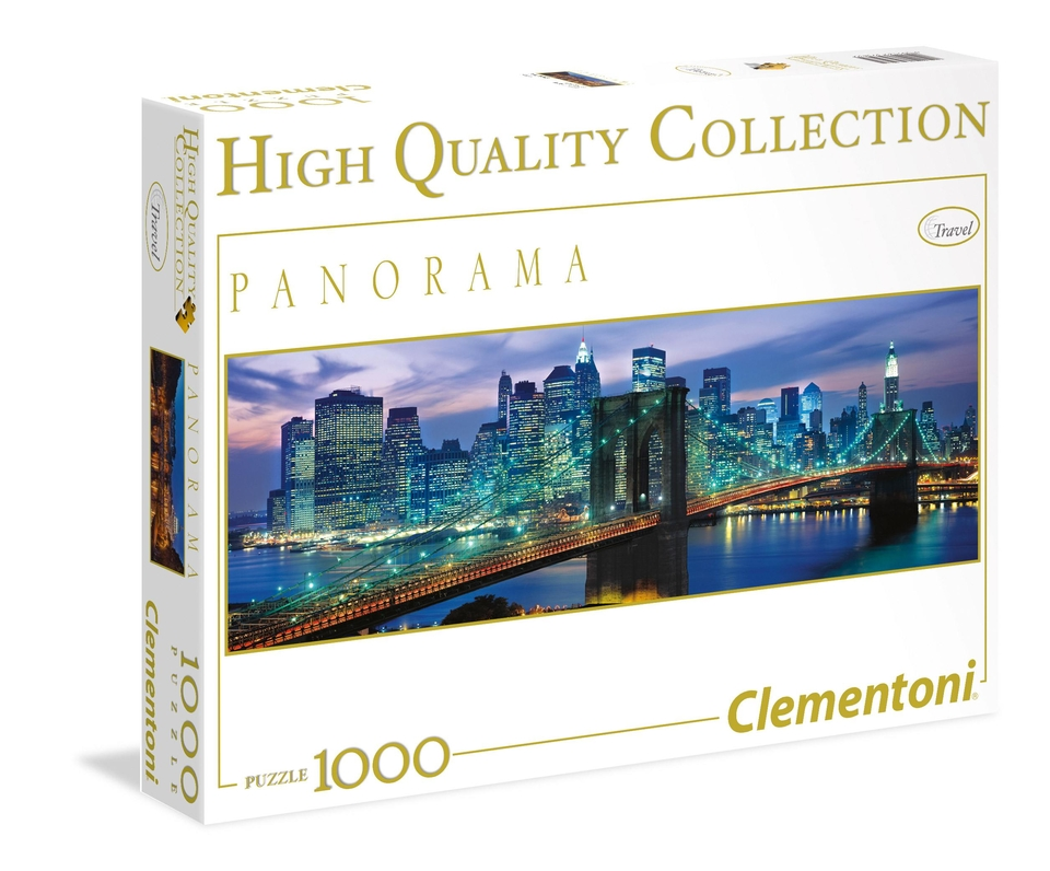 Clementoni Puzzle 1000 Brooklynský most