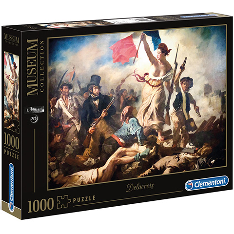 Clementoni Puzzle 1000 Delacroix/Sloboda vedie ľud na barikády
