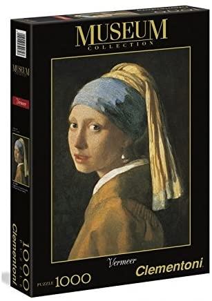 Clementoni Puzzle 1000 Vermeer/Dievča s perlovou naušnicou