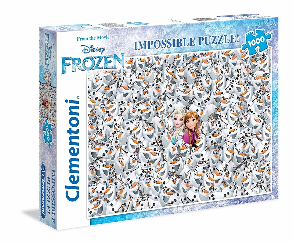 Clementoni puzzle 1000 Frozen