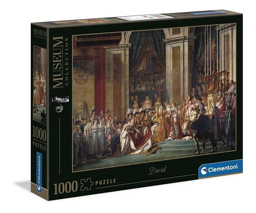 Clementoni Puzzle 1000 David/Korunovácia cisára Napoleona l.