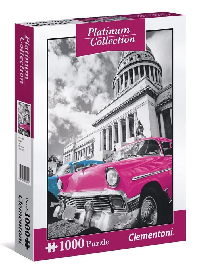 Clementoni puzzle 1000 Kuba