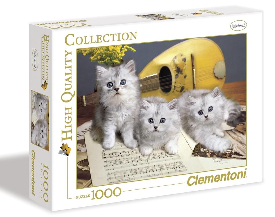 Clementoni Puzzle 1000 Mačiatka